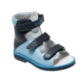 Ортопедические ботинки летние арт.71497-1 сине-голубой