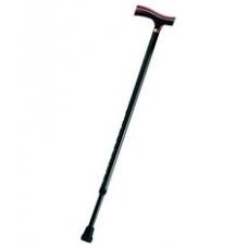 Трости опорные телескопические с деревянной ручкой