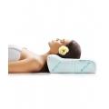 Ортопедическая подушка под голову с одним валиком, 33х50х14 см