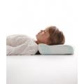 Ортопедическая подушка под голову для детей с одним валиком, 23х40х8 см