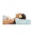 Ортопедическая подушка под голову с одним валиком, 33х50х10 см